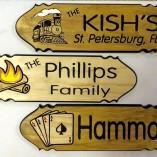 Hammar Kish Phillips Cards Train Campfire signs