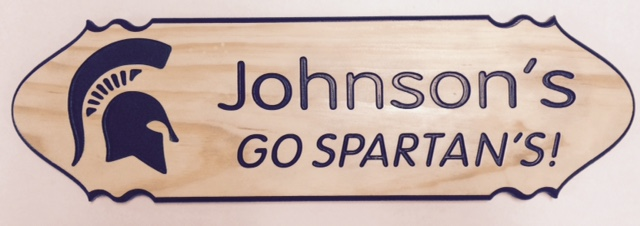 Johnsons Go Spartans
