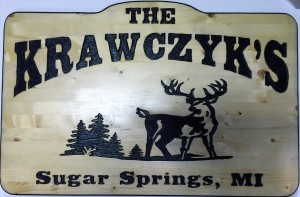 Krawczyk 2x3 Cottage Sign 1-x