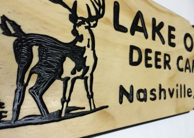 Lake One Deer Camp 6x24 Pine 3