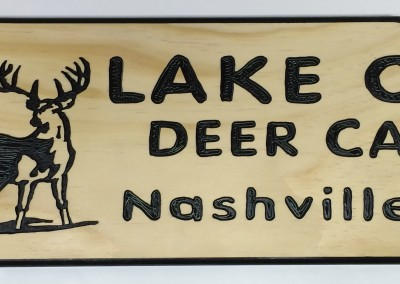 Lake One Deer Camp 6x24 Pine-x