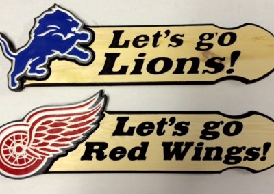 Lions and Red Wings