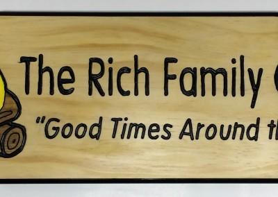 Rich Family 6x24 Pine