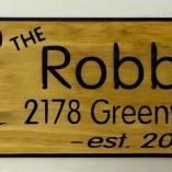 Robbins Deer Sign