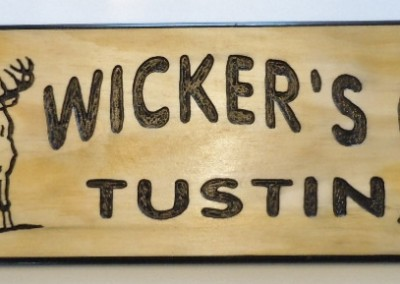 Wickers Camp 6x24 Pine