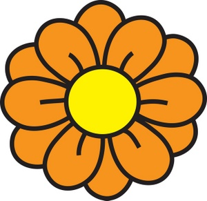 clip_art_illustration_of_a_yellow_flower_0071-0905-2918-2706_SMU
