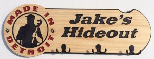 Jakes Hideout Hat and Hoodie