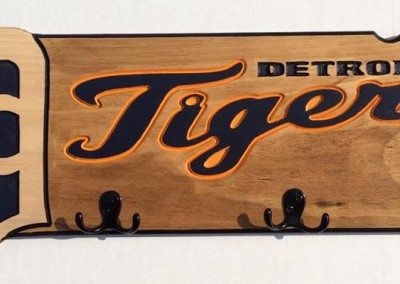 Detroit Tigers Custom Engraved Hat and Hoodie
